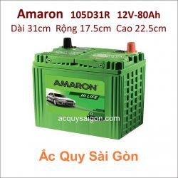 Ắc quy Amaron 12V 80Ah 105D31R (NX120-7R)