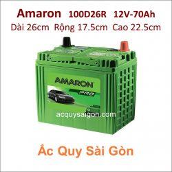 Ắc quy Amaron 12V 70Ah 100D26R (S95R)