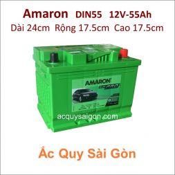 Ắc quy Amaron 12V 55Ah Din55 (555155050)