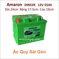 Ắc quy Amaron 12V 55Ah Din55R (555111050)