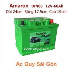 Ắc quy Amaron 12V 66Ah Din66 (566112061)