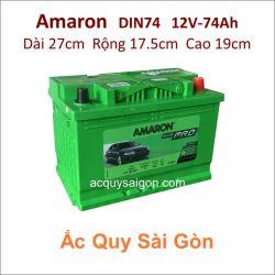 Ắc quy Amaron 12V 74Ah Din74 (574102069)