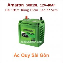 Ắc quy Amaron 12V 40Ah 50B19L (M42L)