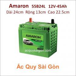 Ắc quy Amaron 12V 45Ah 55B24L (NX100-S6L)
