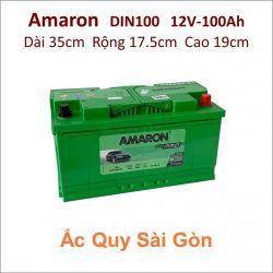 Ắc quy Amaron 12V-100Ah Din100 (600109090)