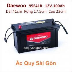 Ắc quy Daewoo 12V/100Ah 95E41R (N100)