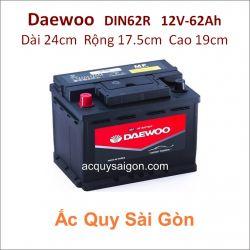 Ắc quy Daewoo 12V 62Ah Din62R (56220)