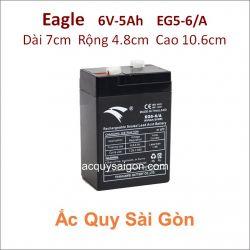 Ắc quy công nghiệp Eagle 6V 5Ah EG5-6/A