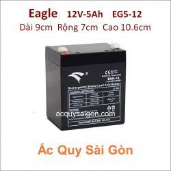 Ắc quy công nghiệp Eagle-12V 5Ah EG5-12