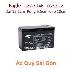 Ắc quy công nghiệp Eagle-12V 7.2Ah EG7.2-12
