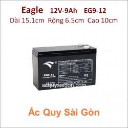 Ắc quy công nghiệp Eagle-12V 9Ah EG9-12