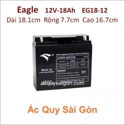 Ắc quy công nghiệp Eagle-12V-18Ah EG18-12