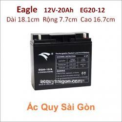 Ắc quy công nghiệp Eagle-12V-20Ah EG20-12/A