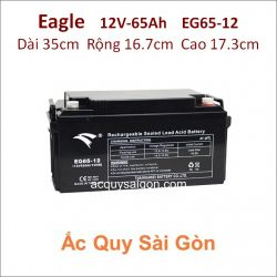 Ắc quy công nghiệp Eagle-12V-65Ah EG65-12