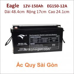 Ắc quy công nghiệp Eagle-12V/150Ah EG150-12