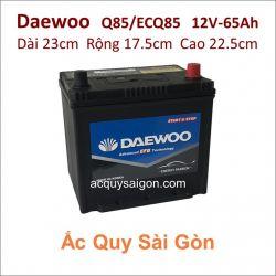 Ắc quy Daewoo 12V 65Ah Q85/ECQ85
