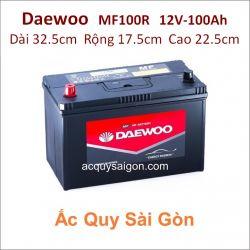 Ắc quy Daewoo 12V/100Ah MF100R