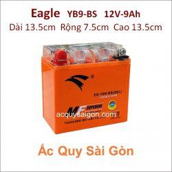 Ắc quy xe mô tô gel Eagle 12V 9Ah YB9-BS