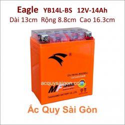 Ắc quy xe mô tô gel Eagle 12V-14Ah YB14L-BS