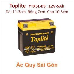 Ắc quy Yuasa Toplite 12V 5Ah YTX5L-BS