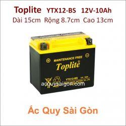 Ắc quy Yuasa Toplite 12V-10Ah  YTX12-BS (Cao cấp)