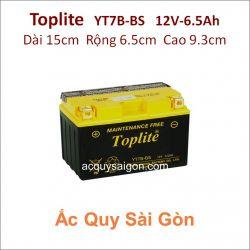Ắc quy Yuasa Toplite 12V 6.5Ah YT7B-BS (Cao cấp)