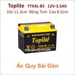 Ắc quy Yuasa Toplite 12V 3.5Ah YTX4L-BS