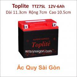 Ắc quy Yuasa Toplite 12V 6Ah TTZ7SL Supercharged