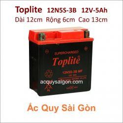 Ắc quy Yuasa Toplite 12V 5Ah 12N5S-3B Supercharged