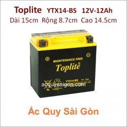 Ắc quy Yuasa Toplite 12V-12Ah YTX14-BS (Cao cấp)