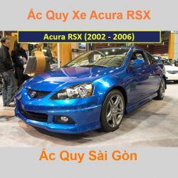 Bình ắc quy xe ô tô Acura Coupe RSX (2002 - 2006)