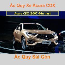 Bình ắc quy xe ô tô Acura Cross CDX (2017 đến nay)