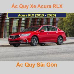 Bình ắc quy xe ô tô Acura Sedan RLX (2013 - 2020)