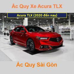 Bình ắc quy xe ô tô Acura Sedan TLX (2020 đến nay)
