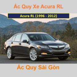 Bình ắc quy xe ô tô Acura Sedan RL (1996 - 2012)