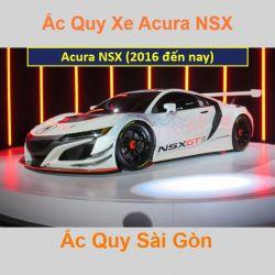 Bình ắc quy xe ô tô Acura Sport NSX