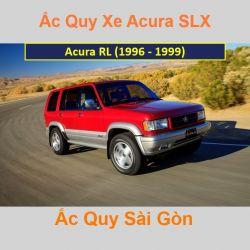 Bình ắc quy xe ô tô Acura SUV SLX (1996 - 1999)