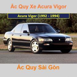 Bình ắc quy xe ô tô Acura Sedan Vigor (1992 - 1994)