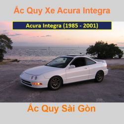Bình ắc quy xe ô tô Acura Coupe Integra (1985 - 2001)