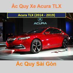Bình ắc quy xe ô tô Acura Sedan TLX (2014 - 2019)