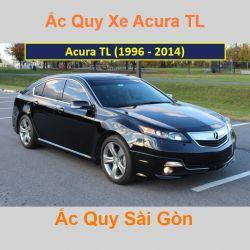 Bình ắc quy xe ô tô Acura Sedan TL (1996 - 2014)