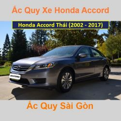 Bình ắc quy xe ô tô Honda Accord Thái Lan (2002 - 2017)