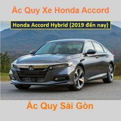 Bình ắc quy xe ô tô Honda Accord Hybrid (2019 đến nay)