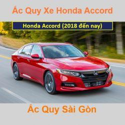 Bình ắc quy xe ô tô Honda Accord Thái Lan (2018 đến nay)