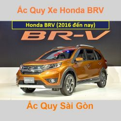 Bình ắc quy xe ô tô Honda BRV (2016 đến nay)