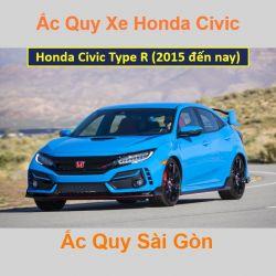 Bình ắc quy xe ô tô Honda Civic Type R (2015 đến nay)