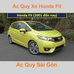 Bình ắc quy xe ô tô Honda Fit (2001 đến nay)