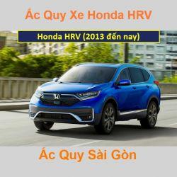 Bình ắc quy xe ô tô Honda HRV (2013 đến nay)