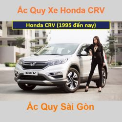 Bình ắc quy xe ô tô Honda CRV (1995 đến nay)