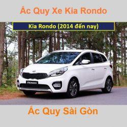 Bình ắc quy xe ô tô Kia Rondo (2014 đến nay)